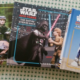 Star Wars Epic Yarns Board Book Trilogy Giveaway