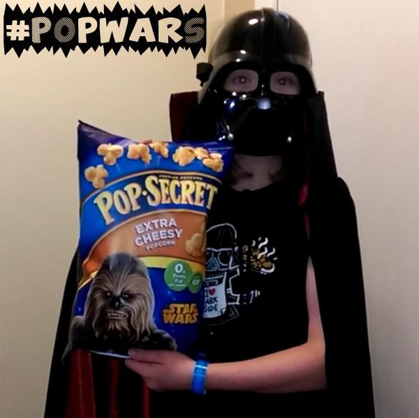 Life of Dad Pop Secret PopWars Darth Vader Popcorn
