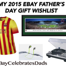My eBay Father's Day Gift Wishlist