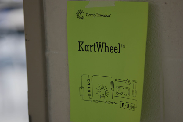Live from 2015 Camp Invention KartWheel
