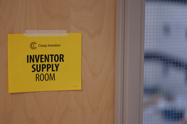 Live from 2015 Camp Invention Inventors Supply Room