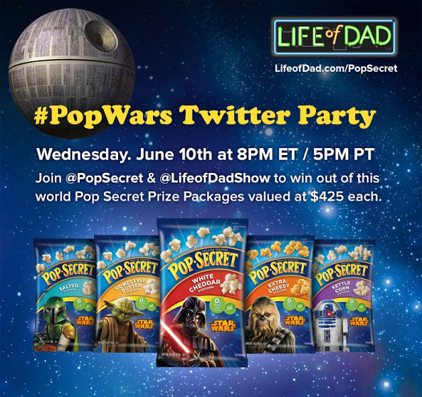 Pop Secret Life of Dad Twitter Party