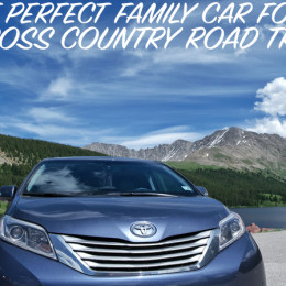 The Perfect Family Car for a Cross Country Road Trip