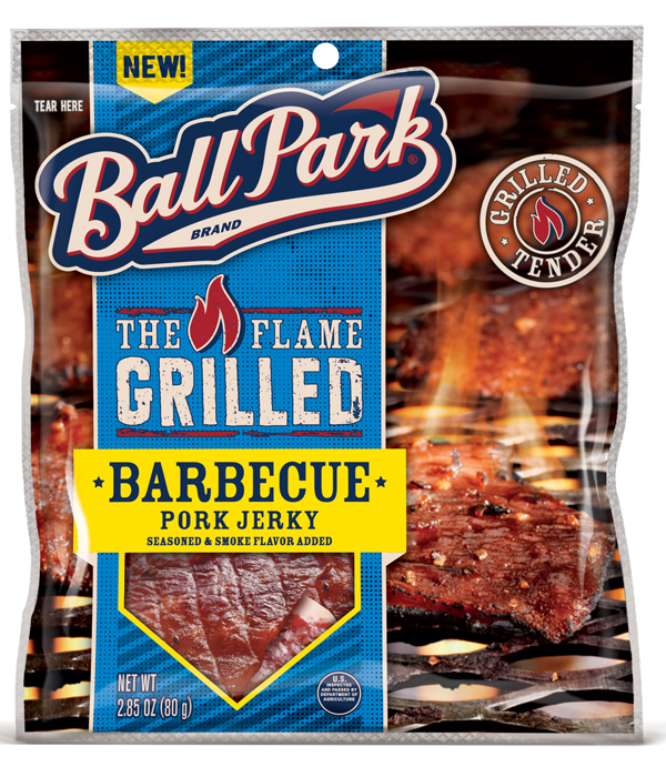 Ball Park Flame Grilled Jerky Pork Barbeque