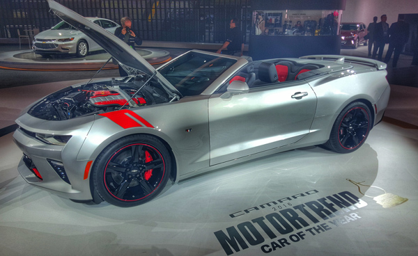 Top 6 New Mid-Life Crisis Cars From The Detroit Auto Show