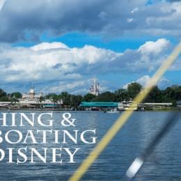 Boating and Fishing at Walt Disney World