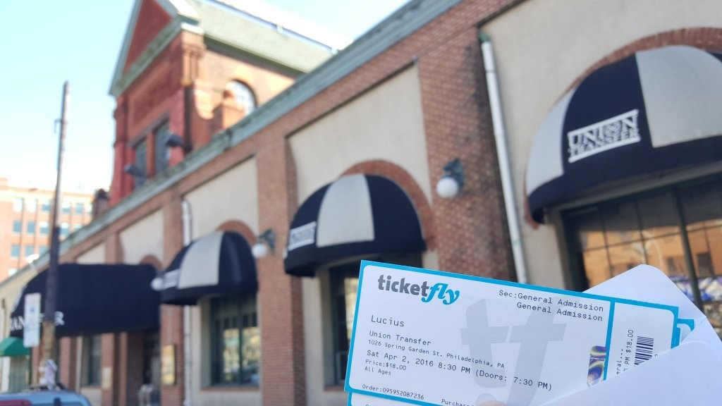 Lucius Live in Philly Tickets grown up music