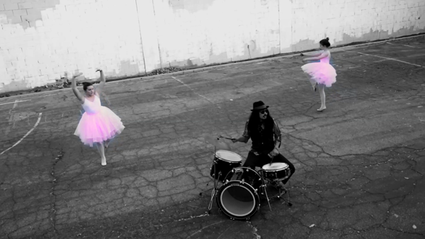 Mista Cookie Jar Me A Little Angel Music Video drums and ballet