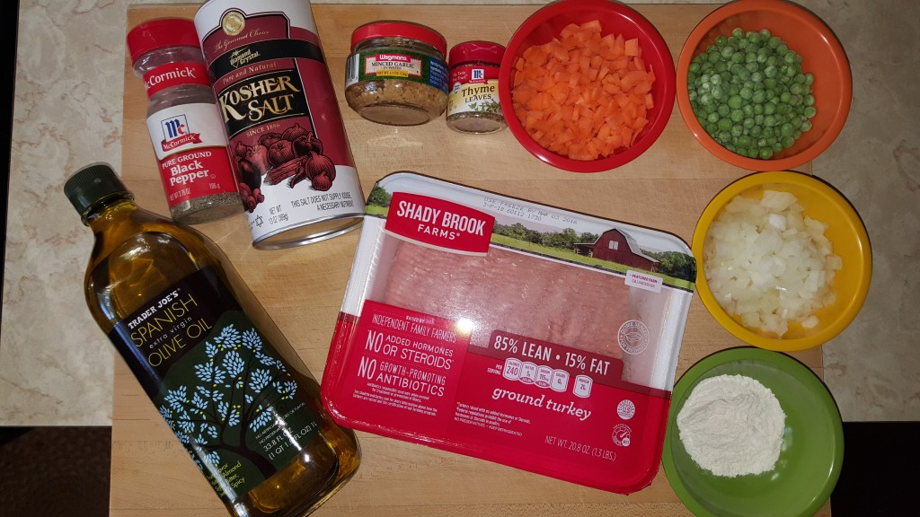 Spartans Shepherd's Pie Ingredients