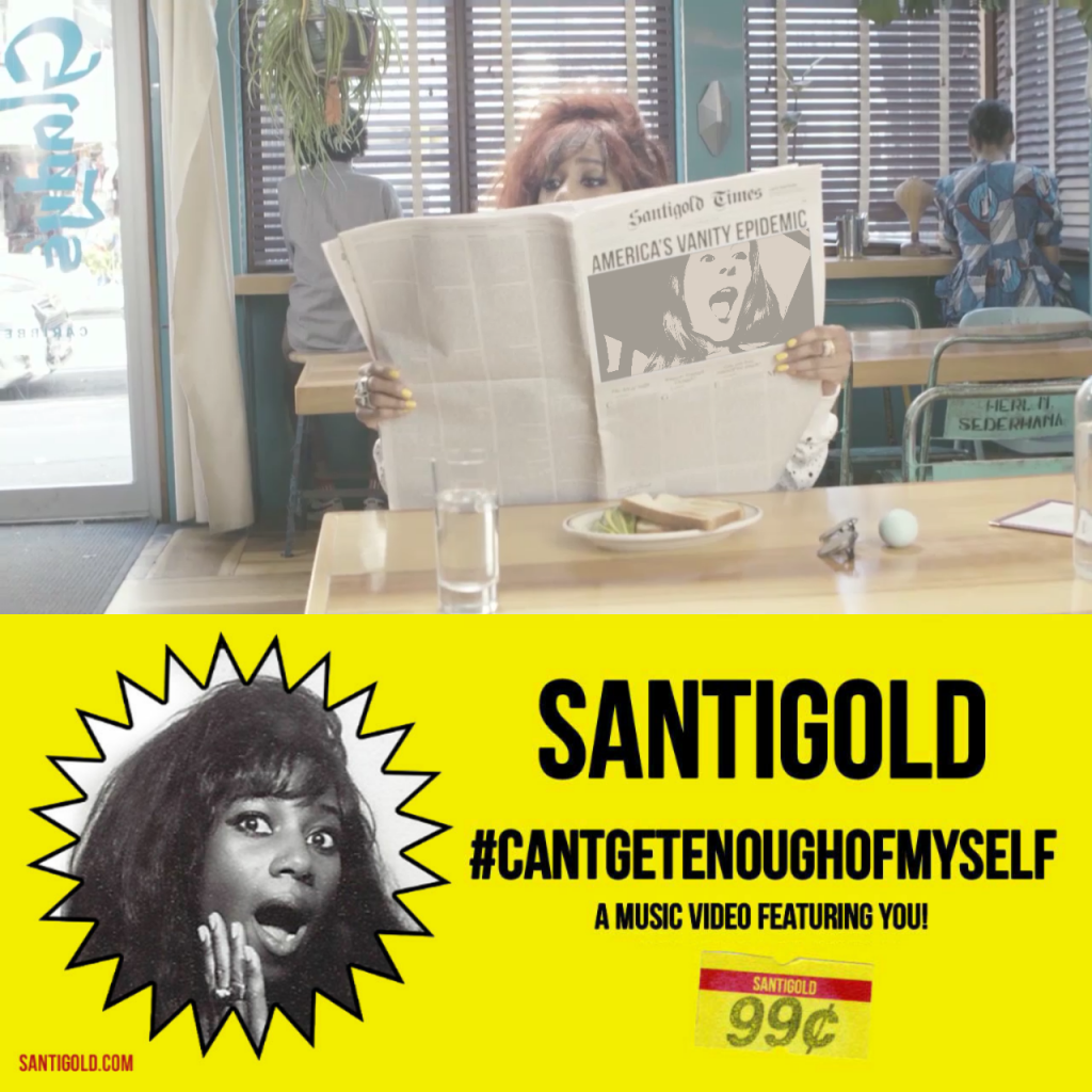 Santigold Can't Get Enough of Myself Video