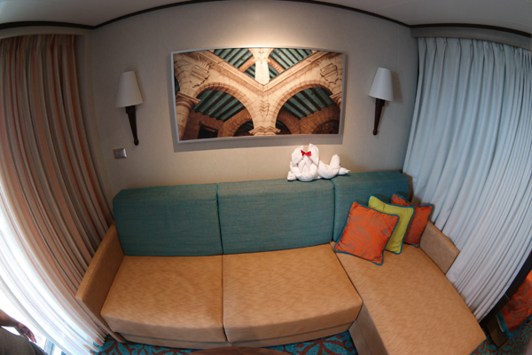 Carnival Vista Havana Suite Sofa