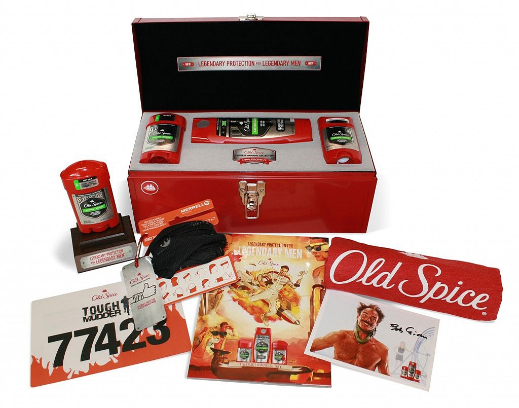 Old Spice Smellegndary Toolbox Giveaway Old Spice Giveaway