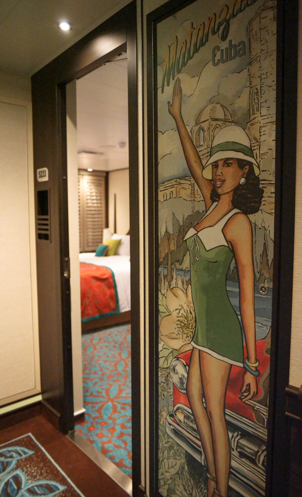 Carnival Vista Havana Suite Artwork