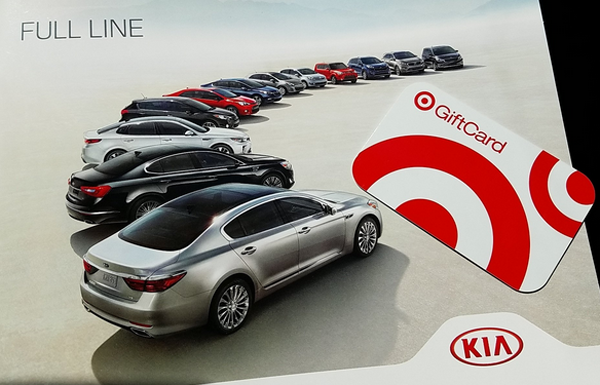 Kia Ride and Drive Gift Card