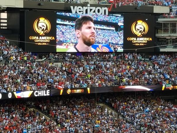 Priceless Copa America Centenario Final Messi Retirement