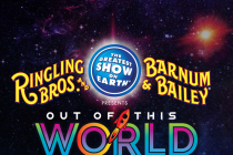 The New Ringling Brothers Show Out Of This World Blasts Off Into The Serene Quiet of Outer Space
