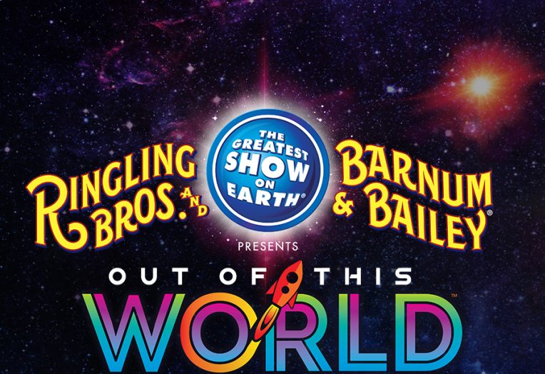 Ringling Out of the World Logo