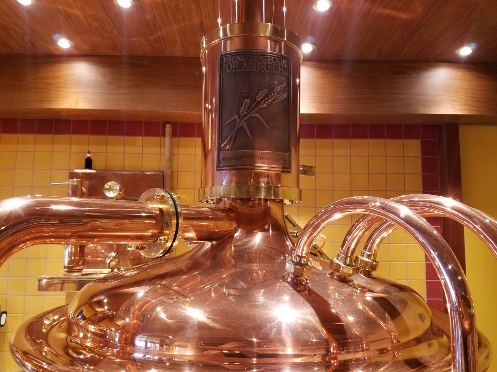 Carnival Vista Red Frog Brewery Albrecht Cooper Tank
