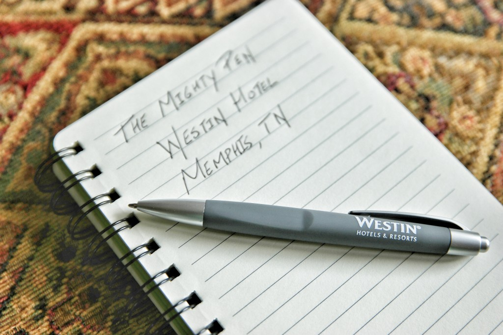 Hotel Pen Review_Westin Memphis TN Black Ink Example