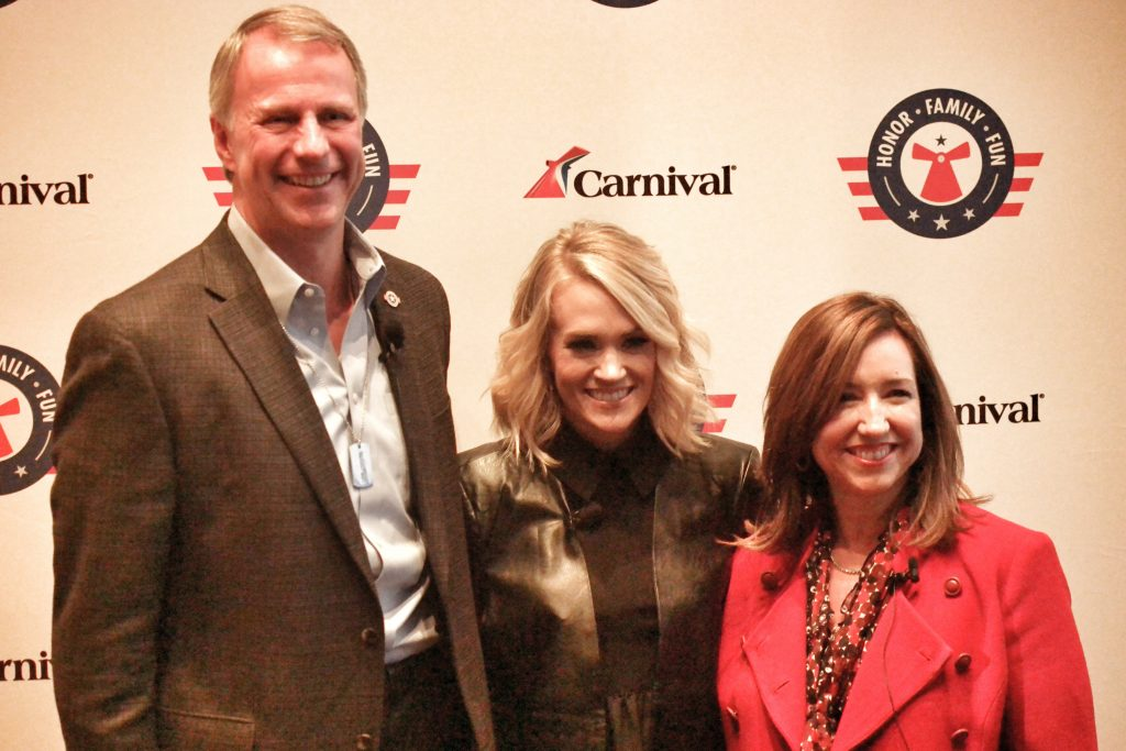 Carnival-Vista-NYC-Welcome-Party-Christine-Duffy-Carrie-Underwood-Op-Homefront