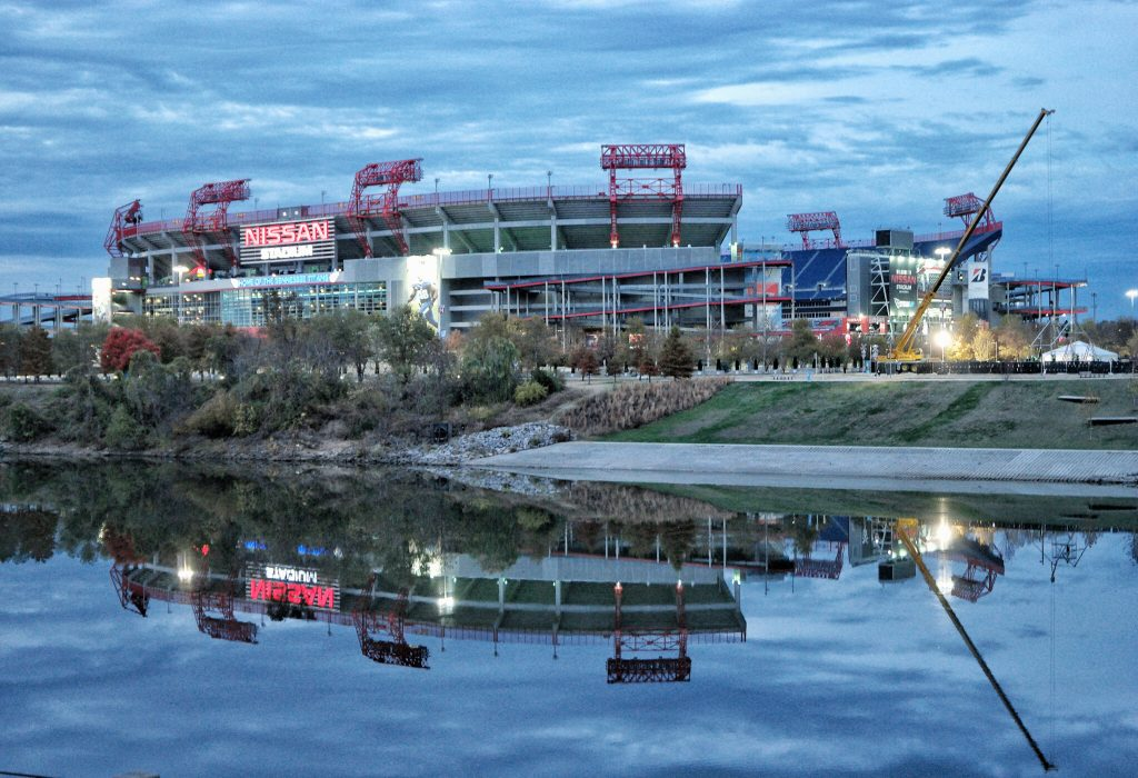 nashville-music-city-kia-optima-hybrid-Titans Stadium