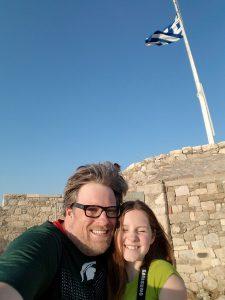 VeryBerryCheerios Dad daughter bond travel greece