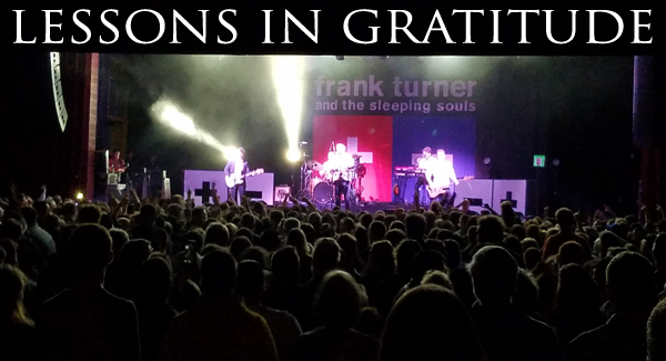 Frank Turner Lessons in Gratitude