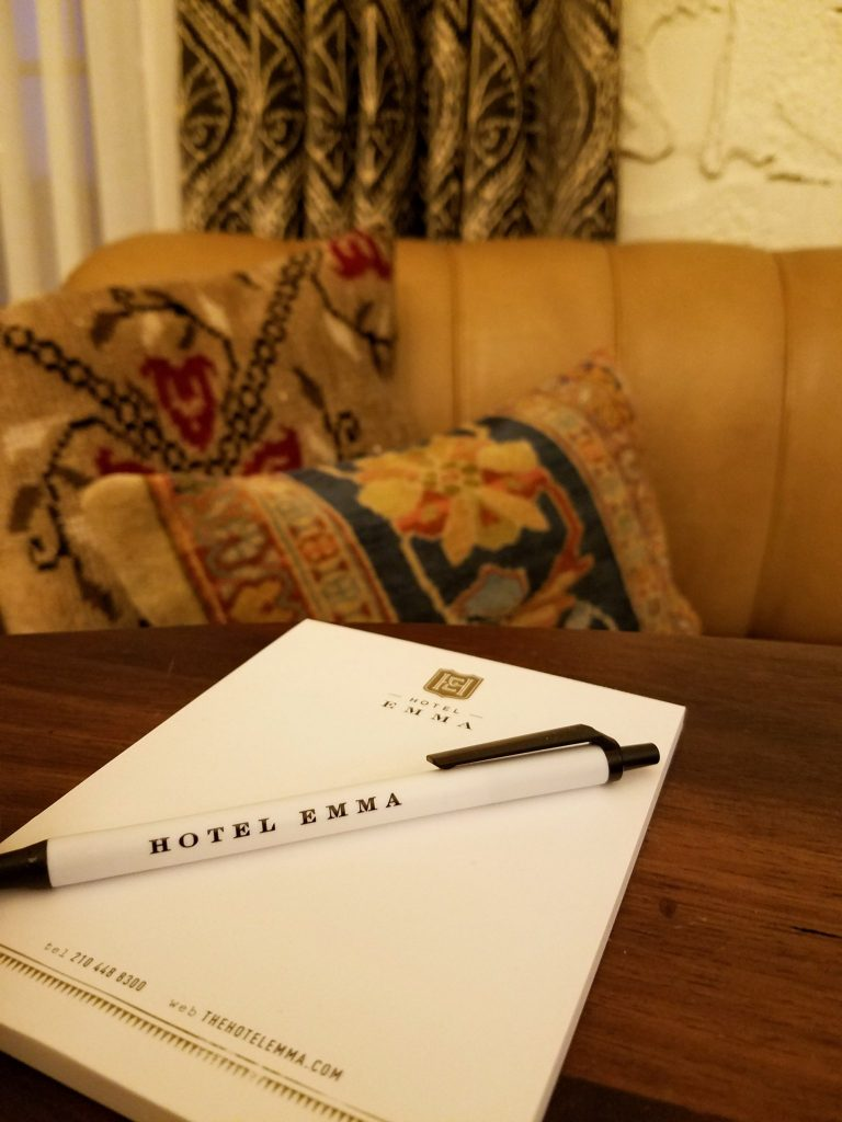 Hotel Emma San Antonio The Mighty Pen title