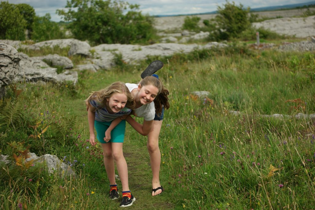 The Burren Ireland with Kids