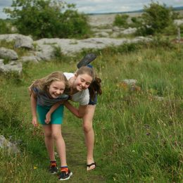 Memories of The Burren in Ireland with Kids