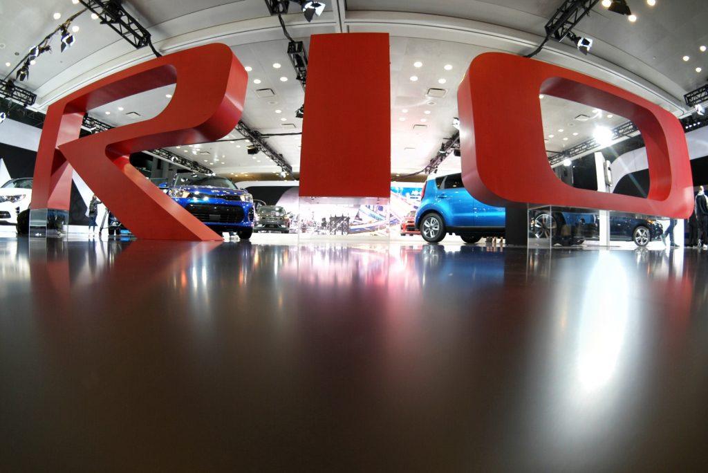 Kia Rio NYC Auto Show