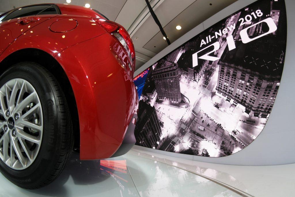 Kia Rio NYC Auto Show Javits
