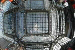 Kia Rio NYC Auto Show Javits Glass Ceiling