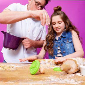 Bogle dad daughter zulily baking sales event 2