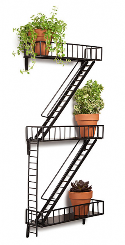 Uncommon Good Father's Day Gift Fire Escape Shelving