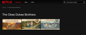 okee dokee brothers on netflix screenshot