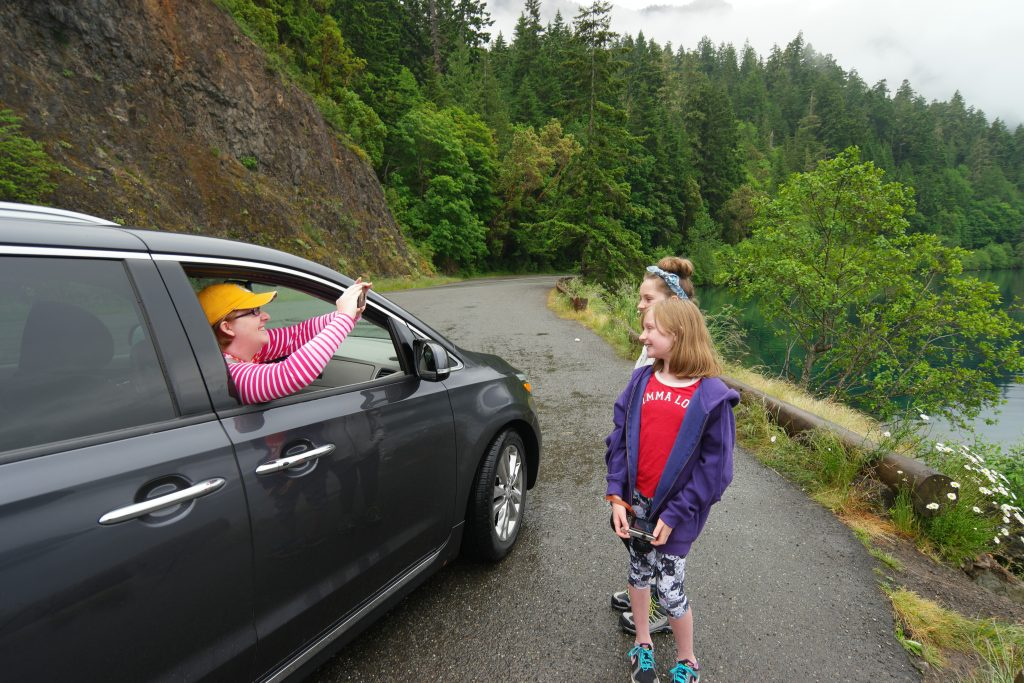 Alaska to Atlantic Road Trip Kia Sedona Olympic Peninsula
