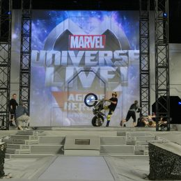 Marvel Universe Live Age of Heroes_rehearsal