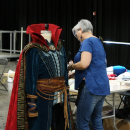Marvel Universe Live Age of Heroes_rehearsal Dr Strange Jacket