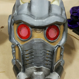 OWTK Marvel Universe Live Star Lord Mask In Progress