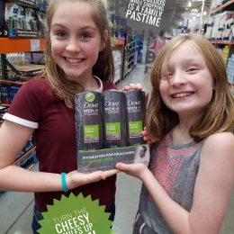 Extra Fresh Samples At Costco With Kids