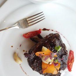 Nouveau Restaurant Carnival Legend Alaska Filet Mignon Bearnaise Sauce