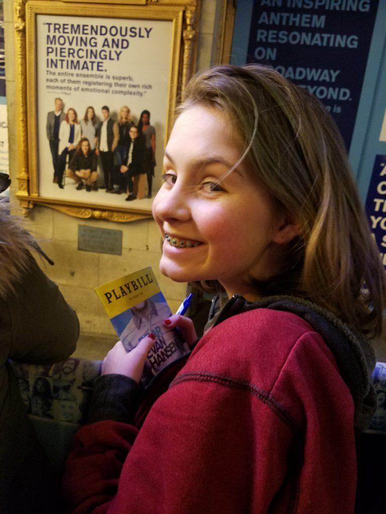 Dear Evan Hansen Music Box NYC Stage Door Autograph Hunting