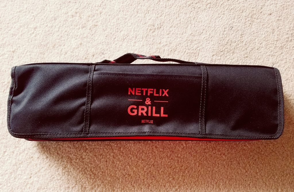 Arlo Finch Giveaway Netflix and Grill Set