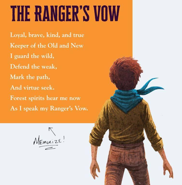 Arlo Finch Rangers Vow