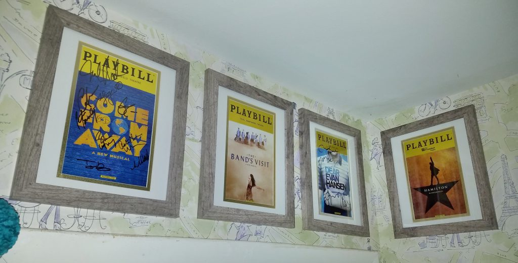 Affordable Playbill frames to frame Playbills cheap