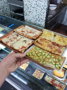 Travel Bucket List Destination Orvieto Italy Square Zucchini Pizza