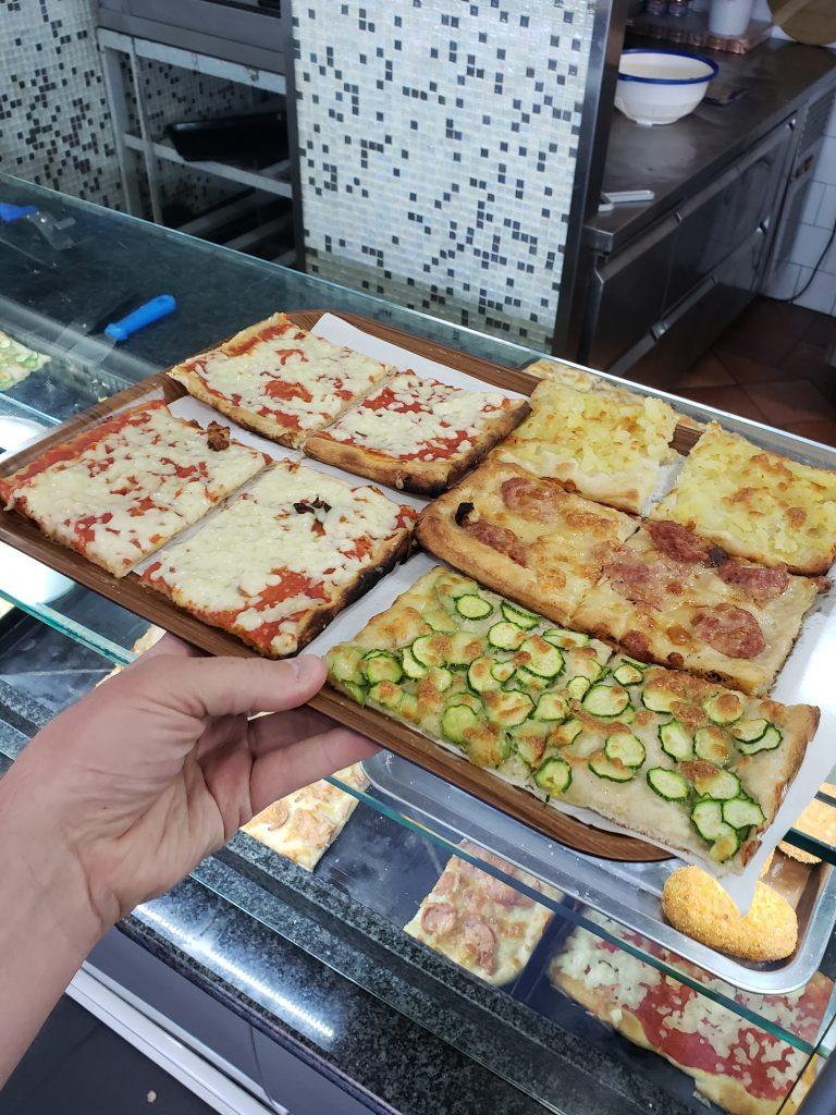 Travel Bucket List Destination Orvieto Italy Square Zucchini Pizza
