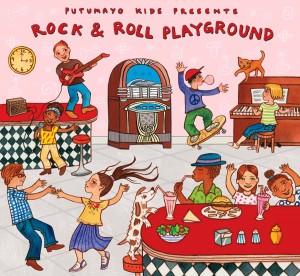 Putumayo Kids Rock & Roll Playground CD Review