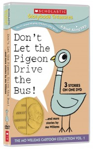 Kid's DVD Review: Don't Let The Pigeon Drive The Bus – The Mo Willems Cartoon Collection